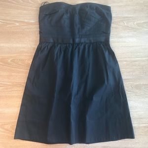 AMERICAN EAGLE STRAPLESS BLACK MINI DRESS